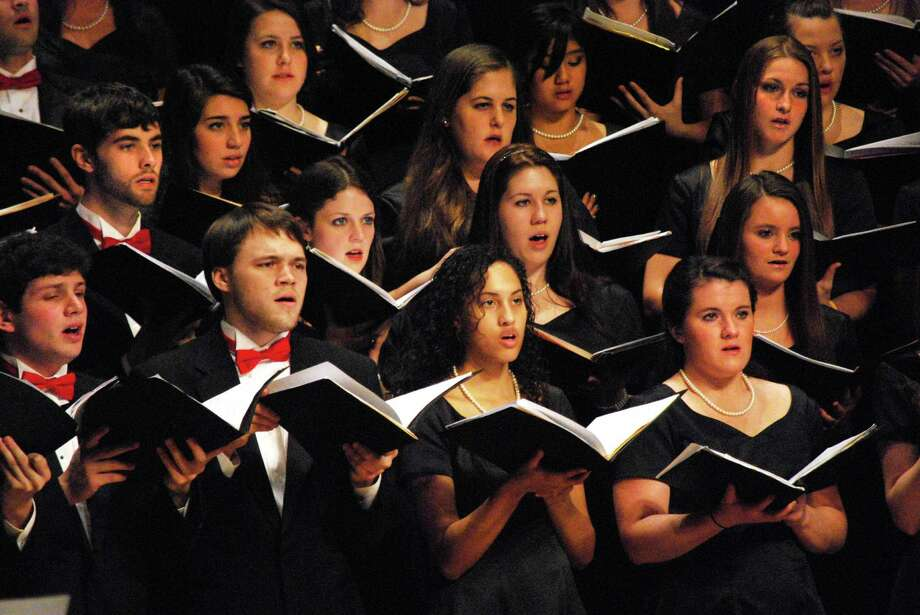 The Fairfield University Glee Club will present its annual Alumni & Family Weekend Concert Sunday, Oct. 21, at the Regina A. Quick Center for the Arts. Photo: Contributed Photo