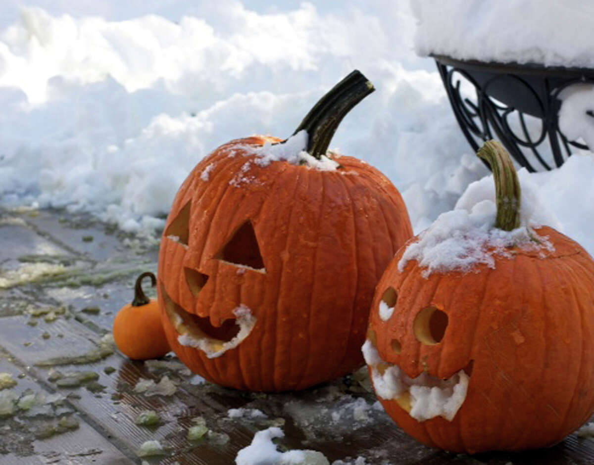 Before the pumpkin, Jack O' Lanterns were made from turnips and potatoes. Source: History.com.