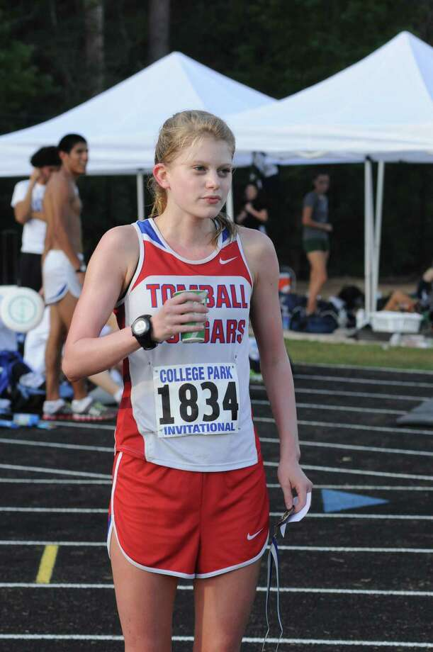 Tomball senior Rachel St. Martin earned a bronze medal at the College Park Invitational on 10-13-12 and will next compete at the Distrixt 22-4A Meet on Oct. 25 at George Bush Park. Photo: L. Scott Hainline