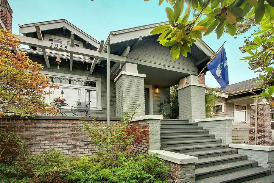 Finally, here's 1935 E. Calhoun St. The 2,630-square-foot Craftsman, built in 1920, has three bedrooms, 1.75 bathrooms, leaded windows, built-ins, a kitchen skylight, air conditioning, a front porch and a back patio on a 3,800-square-foot lot. It's listed for $699,950. Photo: Courtesy Dianne Girard/Windermere Real Estate