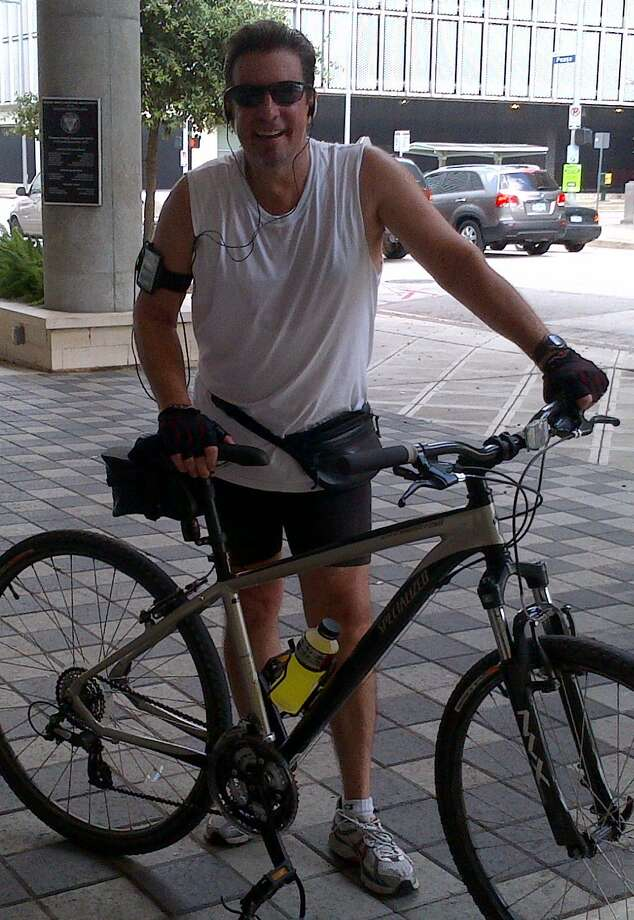"""West University resident Russ Fabiani personally knows people who have been helped by Houston Habitat for Humanity.  He says he enjoyed the fellowship from last year's inaugural """"Bike to Build"""" fundraiser. Photo: X"""