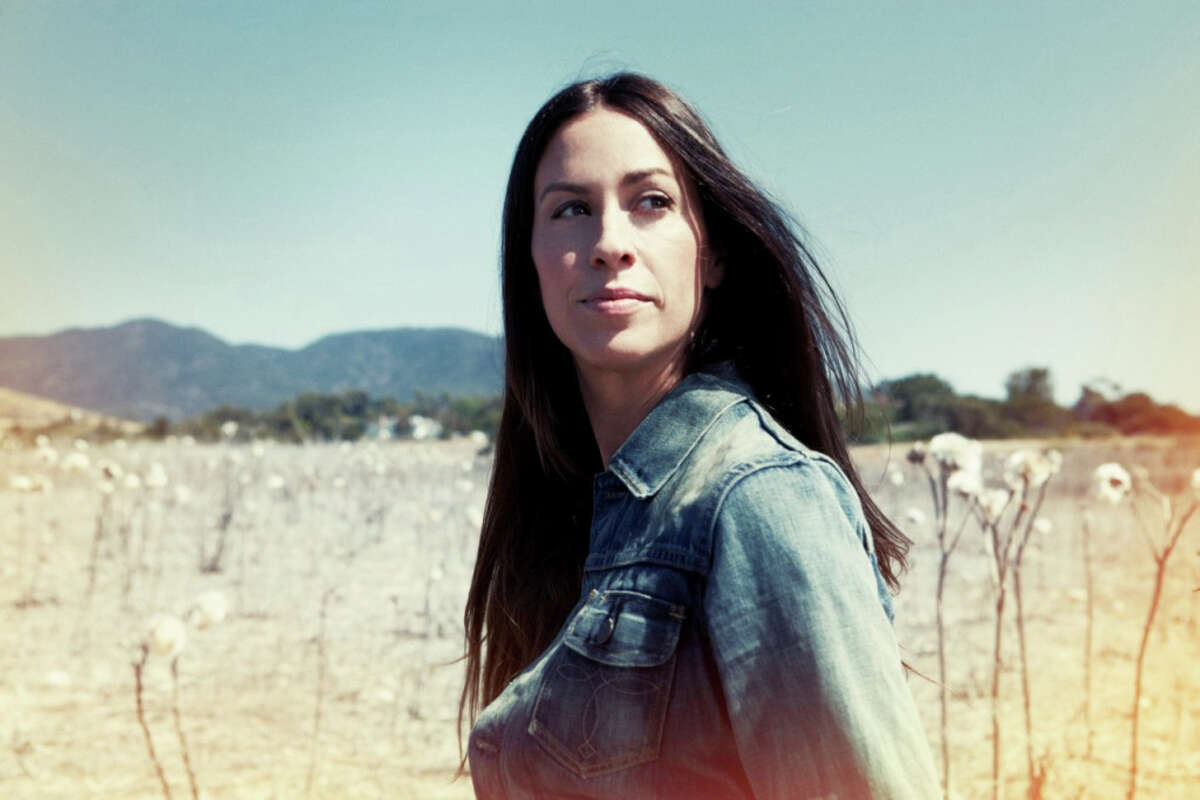 Alanis Morissette will perform Friday, Oct. 19, at the Palace Theater in Waterbury.