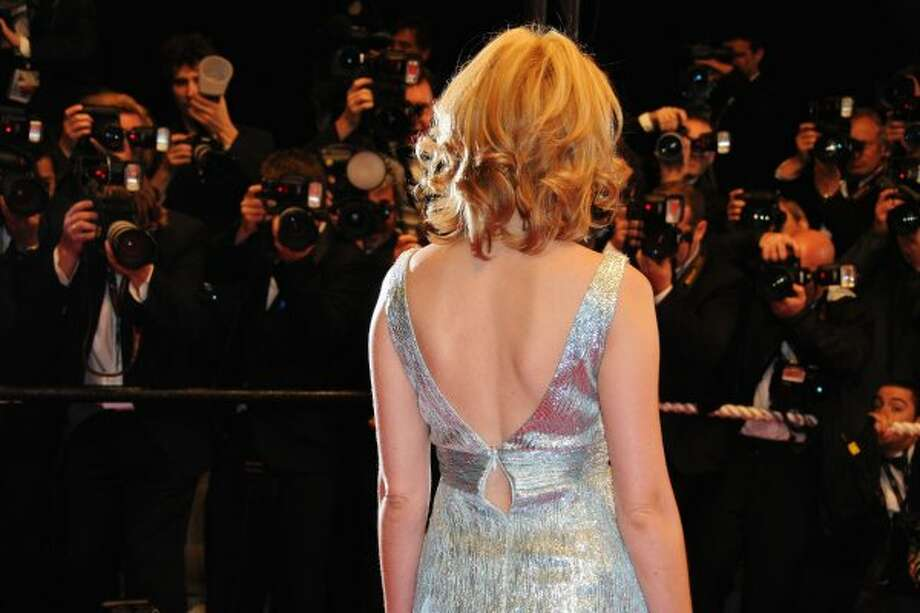 Can you guess which actress walked the red carpet during a Cannes Film Festival with a busted zipper in the back?  (Pascal Le Segretain / Getty Images)