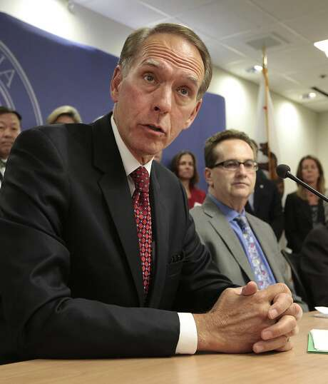 Brice Harris, chancellor of the California Community Colleges system in 2012. Photo: Rich Pedroncelli, Associated Press
