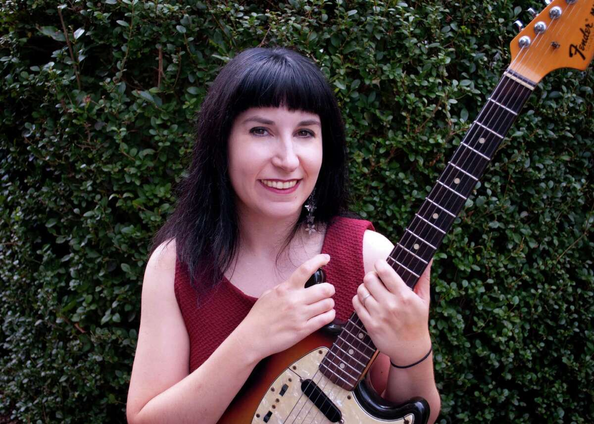 """Singer-songwriter and artist Lys Guillorn, shown here, will perform Saturday, Oct. 20, at the Mercurial Gallery in Danbury. Guillorn's photographs are on display at the gallery along with those of Catherine Vanaria and Mark Savoia. The exhibit is called """"Still..."""""""
