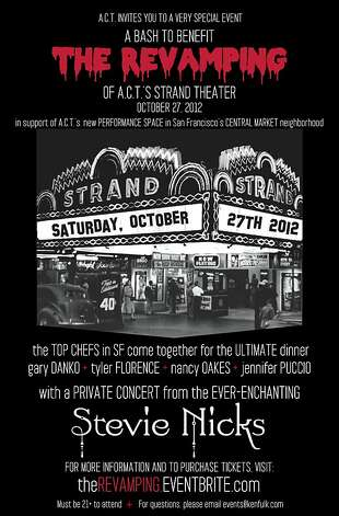 The Revamping is an Oct. 27 benefit for ACT's new Strand Theater performance space. Photo: Ken Fulk Inc.