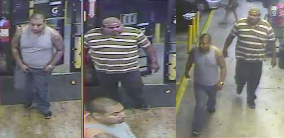 SAPD is seeking to identify the suspects pictured above who are wanted in the death of Juan Romero on Oct. 15. Photo: SAPD