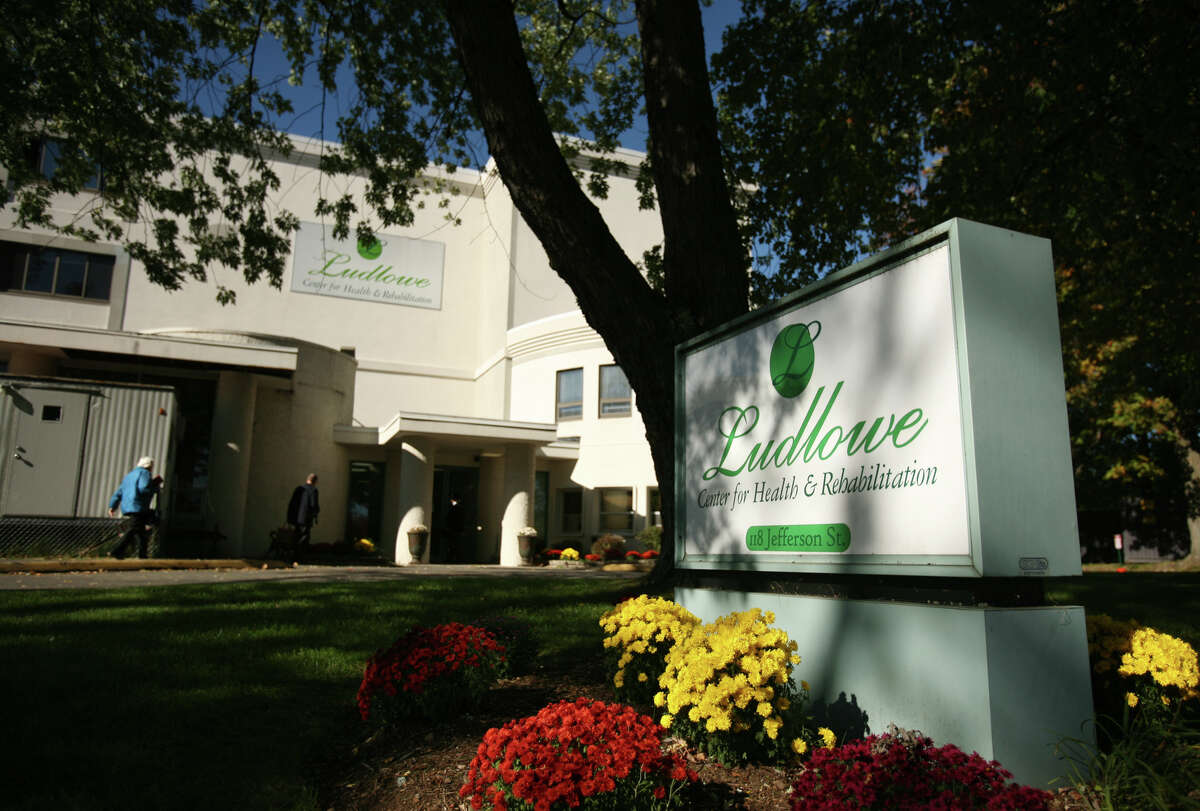 The Ludlowe Center for Health and Rehabilitation at 118 Jefferson Street in Fairfield on Tuesday, October 16, 2012.