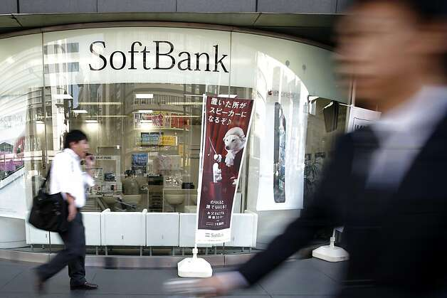 Japan's SoftBank had agreed to pay $20.1 billion to acquire a 70 percent stake in Sprint Nextel Corp. Photo: Kiyoshi Ota, Bloomberg