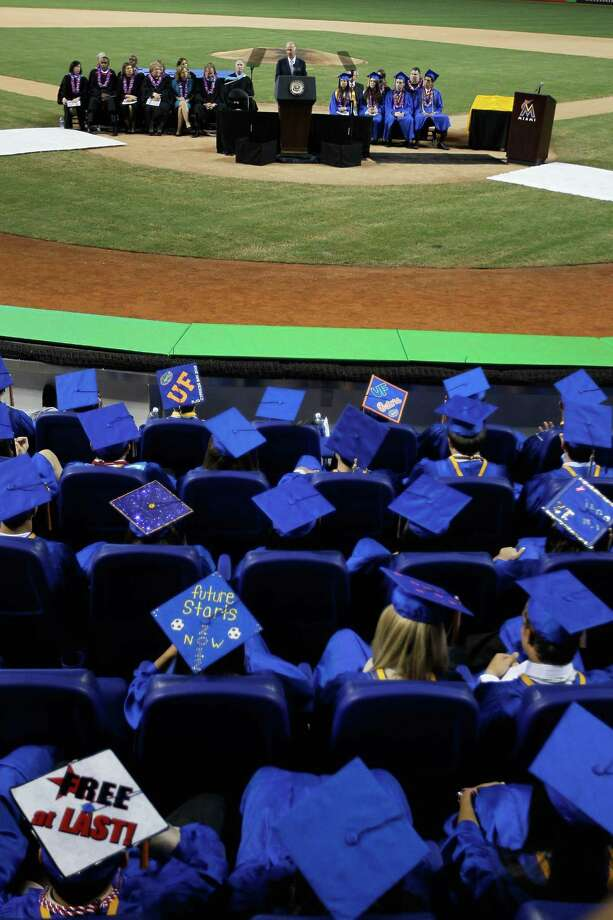 High school: A high school diploma is widely seen as a prerequisite for a basic existence in today's society. Nationwide, 85 percent of Americans over 25 have a high school diploma or equivalency degree. Let's see which of our cities didn't cut class … Photo: Joe Raedle, Getty Images / 2012 Getty Images