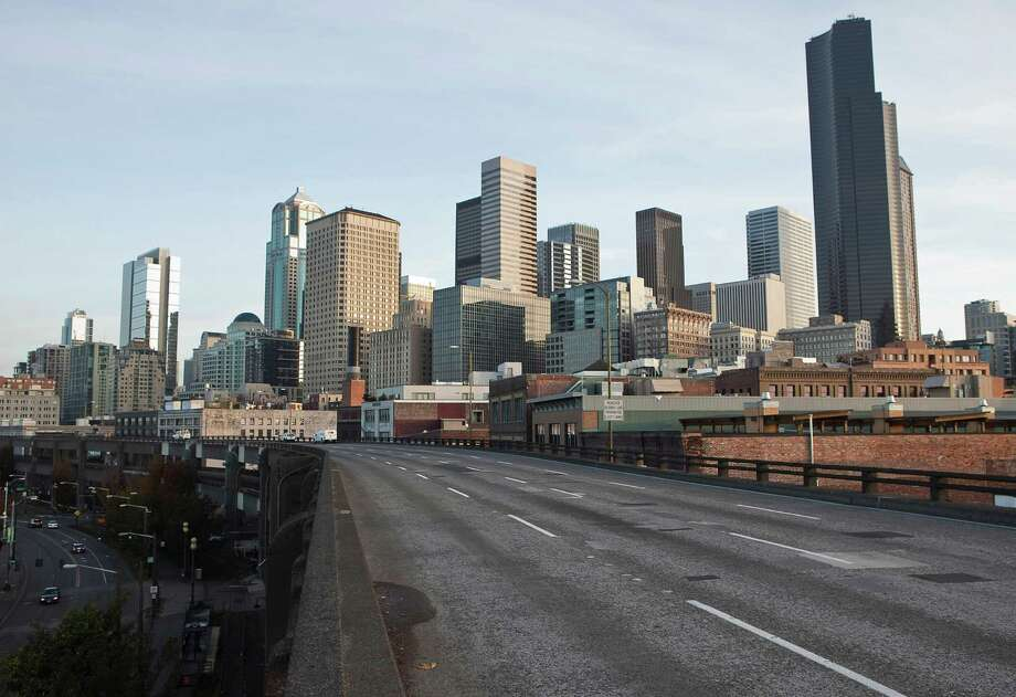 In the Northwest corner, Seattle weighs in at 620,800 residents. That's about 309,000 men and 312,000 women. Click through to see how the Jet City stacks up against its self-consciously quirky neighbor to the south, Portland. Photo: Stephen Brashear, Getty Images / 2009 Getty Images