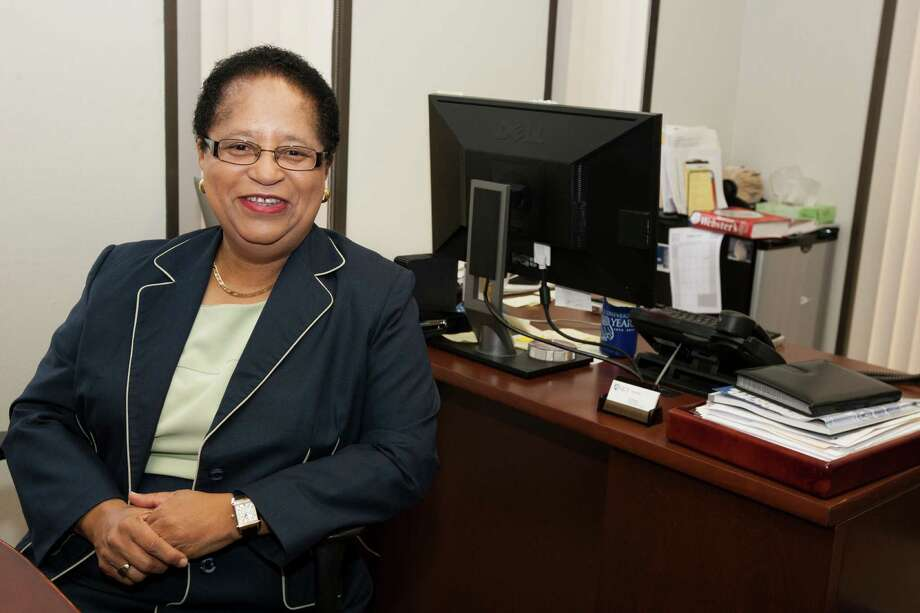 Shirley Jackson, physicist and president of Rensselaer Polytechnic Institute, says energy security, rather than energy independence, is the real U.S. issue. A former chair of the Nuclear Regulatory Commission, she's now on the Marathon Oil Corp. board. Photo: J. Patric Schneider / © 2012 Houston Chronicle