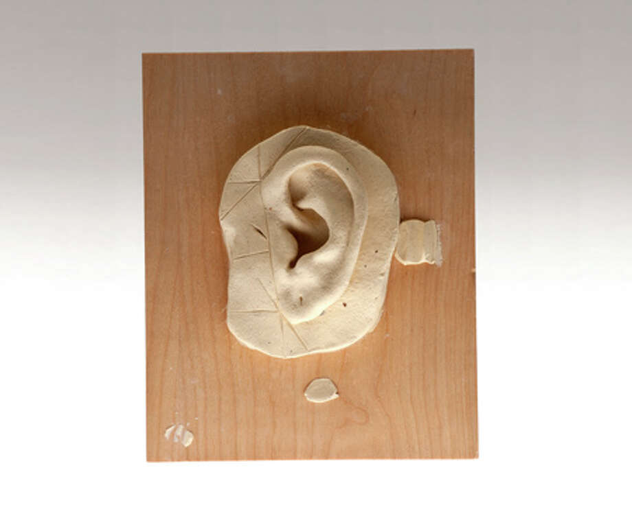 A disguise-specialist applicant sculpted this test ear as part of the CIA's screening process. Photo: Central Intelligence Agency