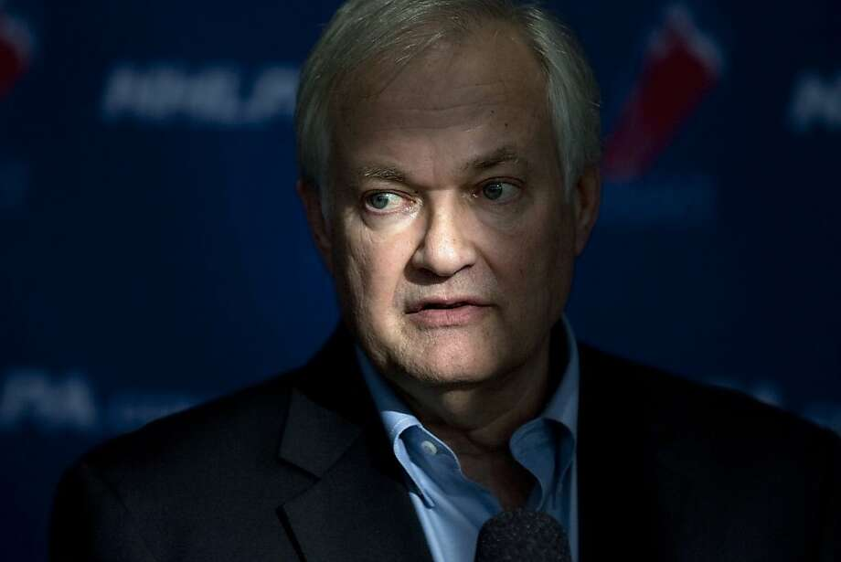 "NHLPA boss Donald Fehr called the league's new proposal an improvement ""in some respects."" Photo: Chris Young, Associated Press"