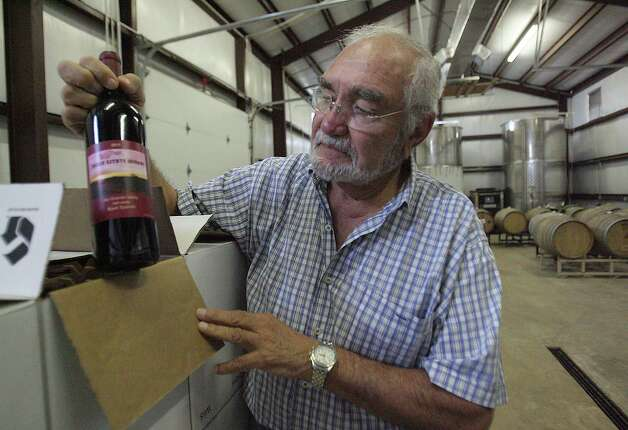 """I like the ambiance of the vineyard. I'd like to help that grow in the Valley,"" said Jorge Jaber, 80, who moved from Mexico. Photo: Delcia Lopez, For The Express-News / DELCIA LOPEZ PHOTOGRAPHY©"