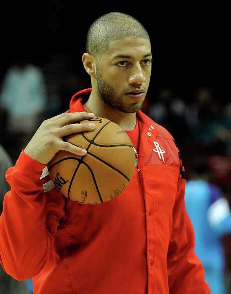 Houston Rockets' Royce White before a preseason NBA basketball game against the New Orleans Hornets Friday, Oct. 12, 2012, in Houston. (AP Photo/Pat Sullivan) Photo: Pat Sullivan, STF / AP