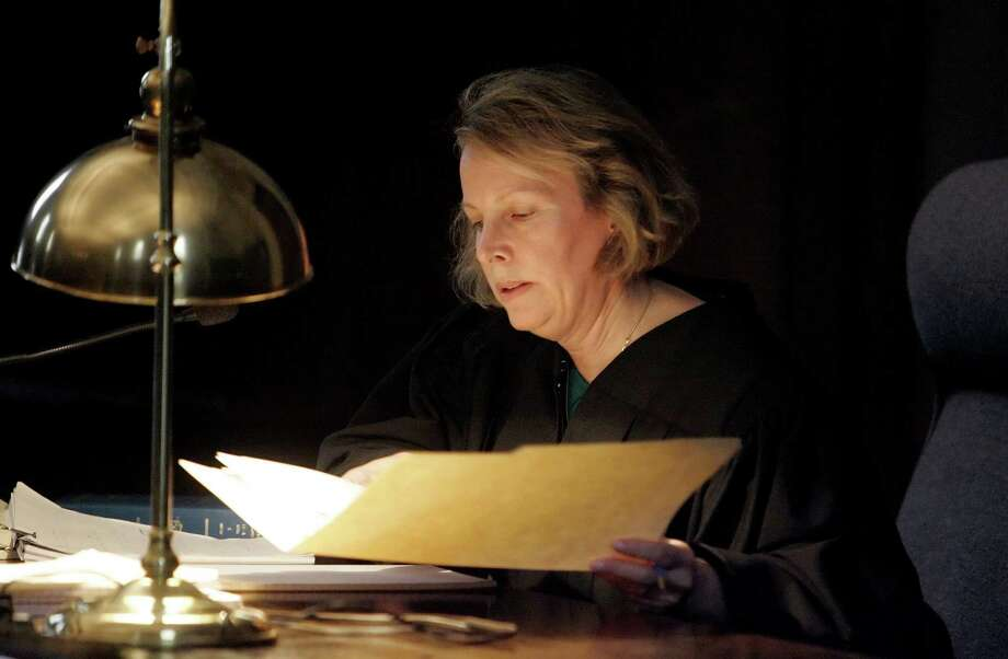 Connecticut State Supreme Court Chief Justice Chase T. Rogers' proposal  to give most state judges pay raises of $45,000 over the next four years is drawing criticism from some state lawmakers, who say the state can't afford the increases.  Rogers proposed the raises on Oct. 3 to the state Commission on Judicial Compensation, saying judges' pay hasn't increased over the past five years and needs to be brought in line with salaries of judges in other states. Photo: Bob Child, ST / AP Pool