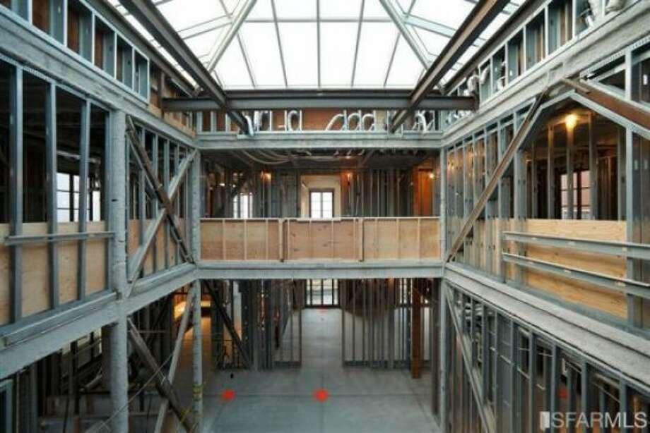 Interior still needs to be finished (Photo: David Barrett, Warwick Properties Group. / SF)