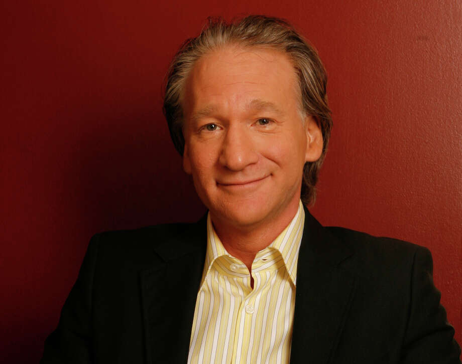 Bill Maher: Batman style graphics should be popping up: POW! SLAM! Photo: DAMIAN DOVARGANES, . / AP2006