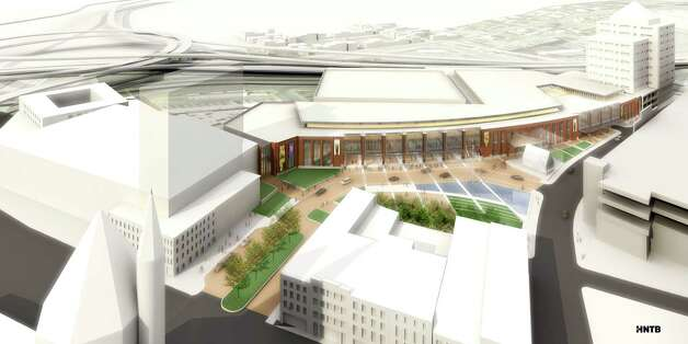 Rendering of Albany's new convention center. Photo: ALL