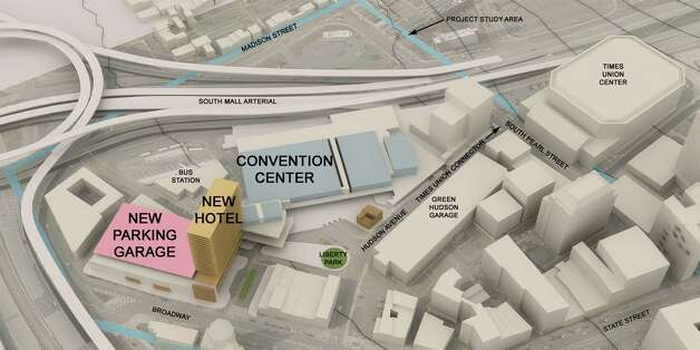 Albany Convention Center - new concept - main level   Times Union story