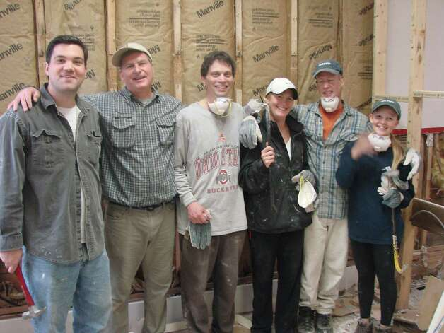Volunteers from the First Presbyterian Church of New Canaan recently completed a mission trip Prattville, N.Y. Photo: Contributed Photo