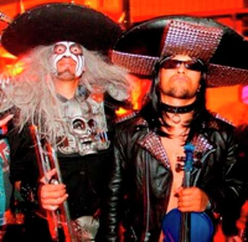 Hollywood band Metalachi, which plays rock and metal with traditional mariachi instruments / © Colin Young-Wolff 2009