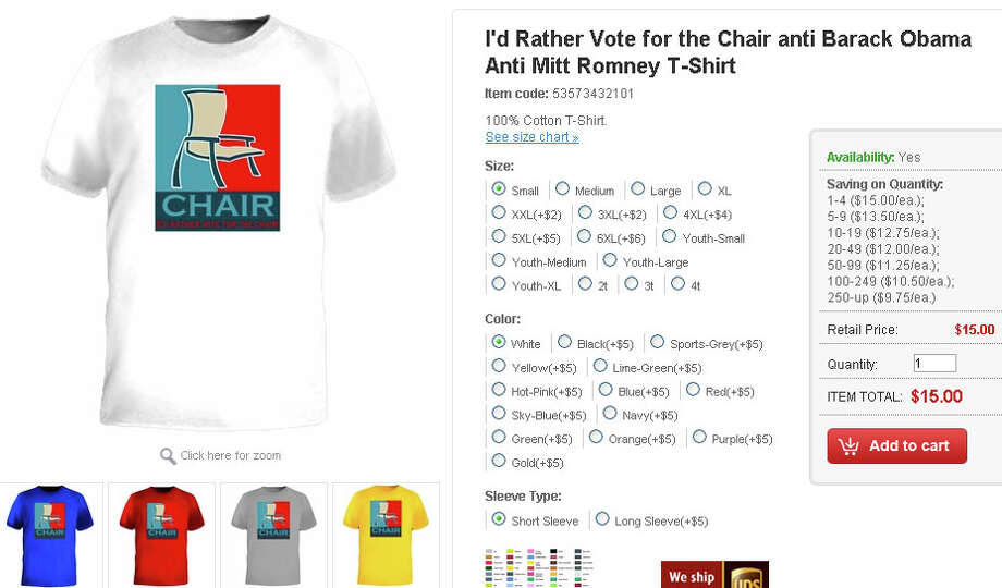 I'd rather vote for the chair - $15 at teeshirtpalace.com.