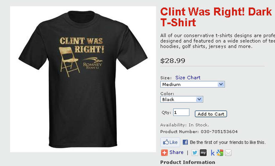 Clint was right! - $28.99 at cafepress.com.