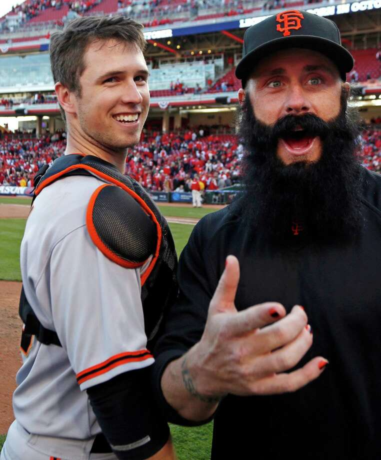 The San Francisco Giants have ace pitcher Brian Wilson and his awesome beard. Photo: David Kohl, Associated Press / FR51830 AP
