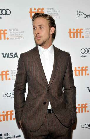 "TORONTO, ON - SEPTEMBER 07:  Actor Ryan Gosling attends ""The Place Beyond The Pines"" premiere during the 2012 Toronto International Film Festival at Princess of Wales Theatre on September 7, 2012 in Toronto, Canada.  (Photo by Sonia Recchia/Getty Images) Photo: Sonia Recchia / 2012 Getty Images"