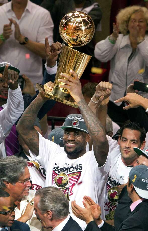 "Miami has the talents of LeBron James and the 2012 NBA champion Heat. Meanwhile, the Rockets are in a ""rebuild."" Photo: C.W. Griffin, McClatchy-Tribune News Service / Miami Herald"