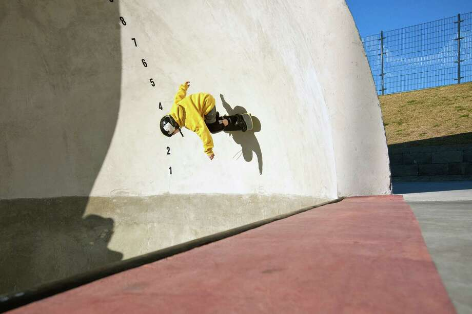 Skatestock will feature skateboard exhibits, interactive workshops and physics experiments. Photo: TODD SPOTH / Freelance