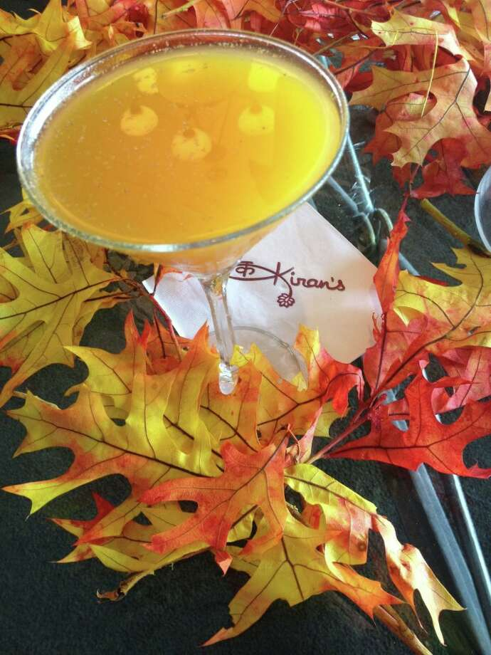 The Pumpkin-tini at Kiran's is the perfect autumn pick-me-up. Photo: Courtesy Photo