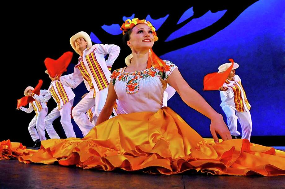 Ballet Folklórico de México de Amalia Hernández, one of Mexico's cultural treasures, performs at Miller Outdoor Theatre on Friday. Photo: Courtesy Miller Outdoor Theatre