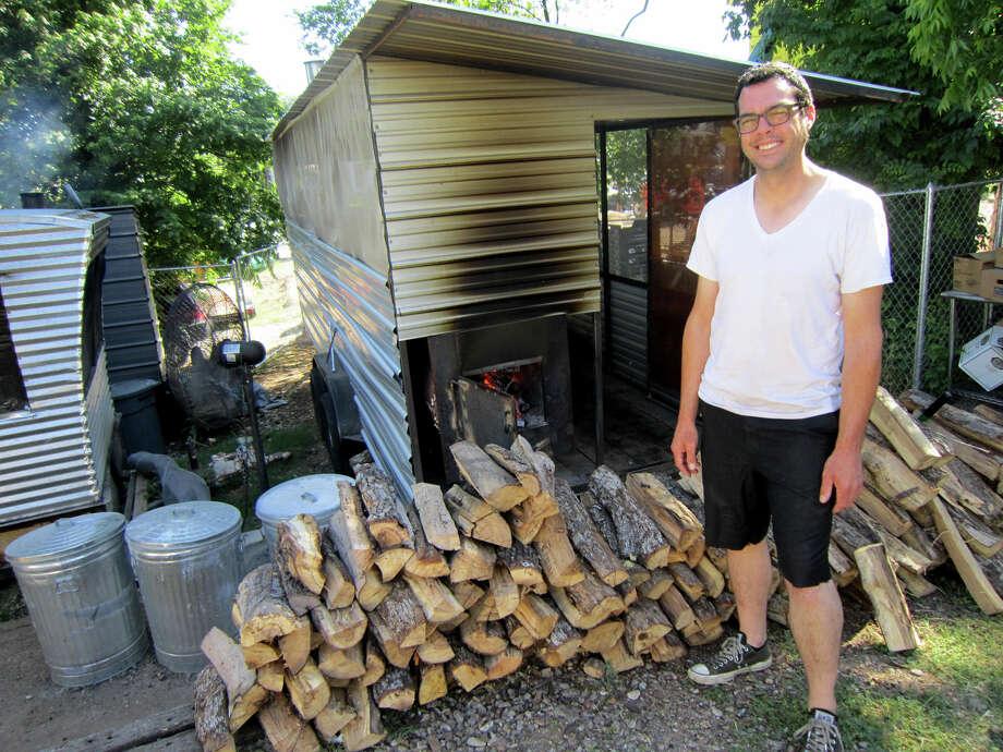 Aaron Franklin of Franklin's BBQ in Austin. Photo: Austin American-Statesman