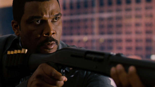 "Tyler Perry had to leave the set of ""Alex Cross"" to collect himself after hitting co-star Matthew Fox in the face. ""This Krav Maga training I took is really amazing. I had major issues because I didn't want to hurt him."" Sure, you don't know your own strength, Tyler Perry. Matthew Fox, by the way, said he wasn't hurt.  Photo: SIDNEY BALDWIN / Summit Entertainment"