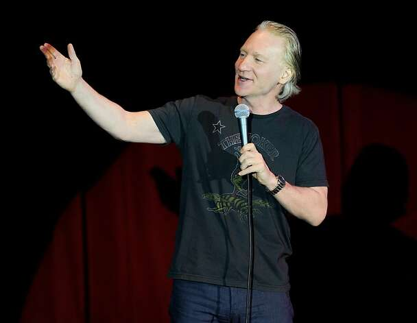 LAS VEGAS, NV - JULY 02:  Television host and comedian Bill Maher performs at The Orleans Hotel & Casino July 2, 2011 in Las Vegas, Nevada.  (Photo by Ethan Miller/Getty Images) Photo: Ethan Miller, Getty Images