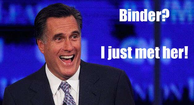 Romney Binders of Women