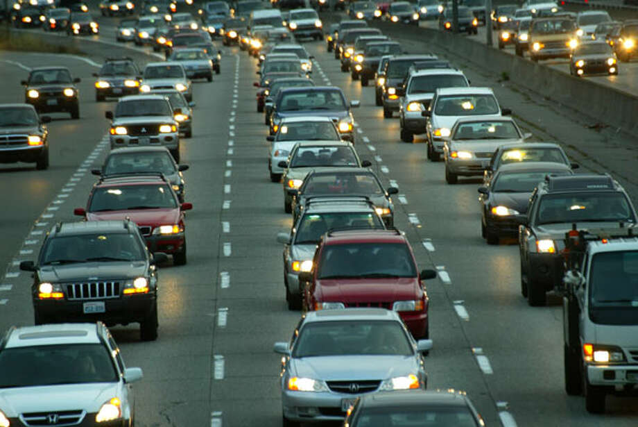 Commute time:When you're stuck on 520, it doesn't feel this way, but Seattle's commute isn't that long compared with everyone else's. Our mean travel time for commuting is 26 minutes.  Photo: .