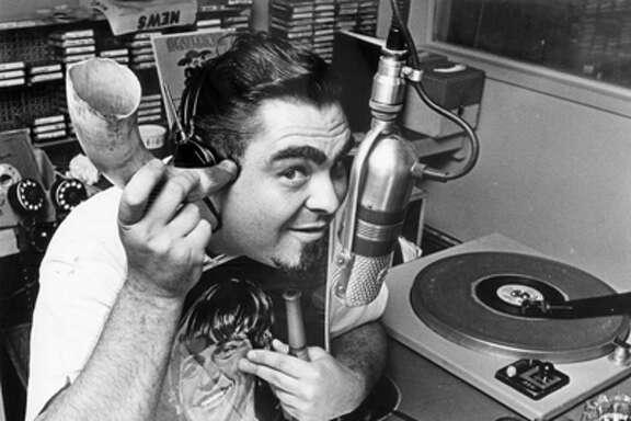 Russ Knight, aka The Weird Beard, 1965. (Chronicle file)