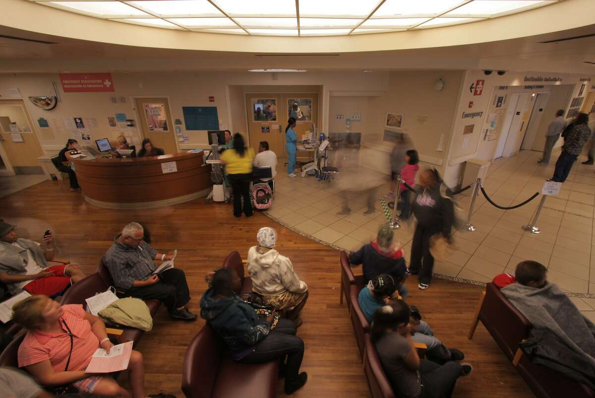 The Waiting Room at Highland Hospital in Oakland, Ca.