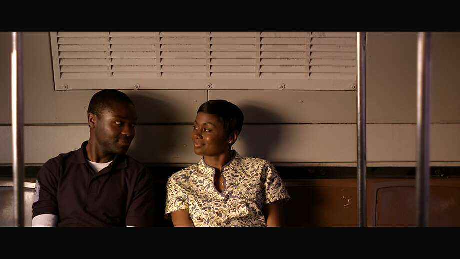 "David Oyelowo as ÒBrianÓ and Emayatzy Corinealdi as ""Ruby""  in, ""Middle of Nowhere."" Photo: African-American Film Festival R"
