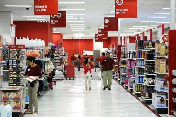 Employees are seen working towards opening day at the new CityTarget store, which is set to open on the 14th, at the renovated Metreon in San Francisco, CA Tuesday October 2nd, 2012.