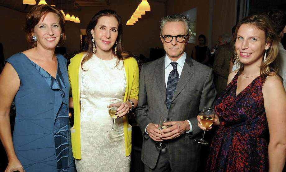 Mary Magsamen, from left, Laurie Simmons, Carroll Dunham and Sarah Stauder Photo: Dave Rossman / © 2012 Dave Rossman