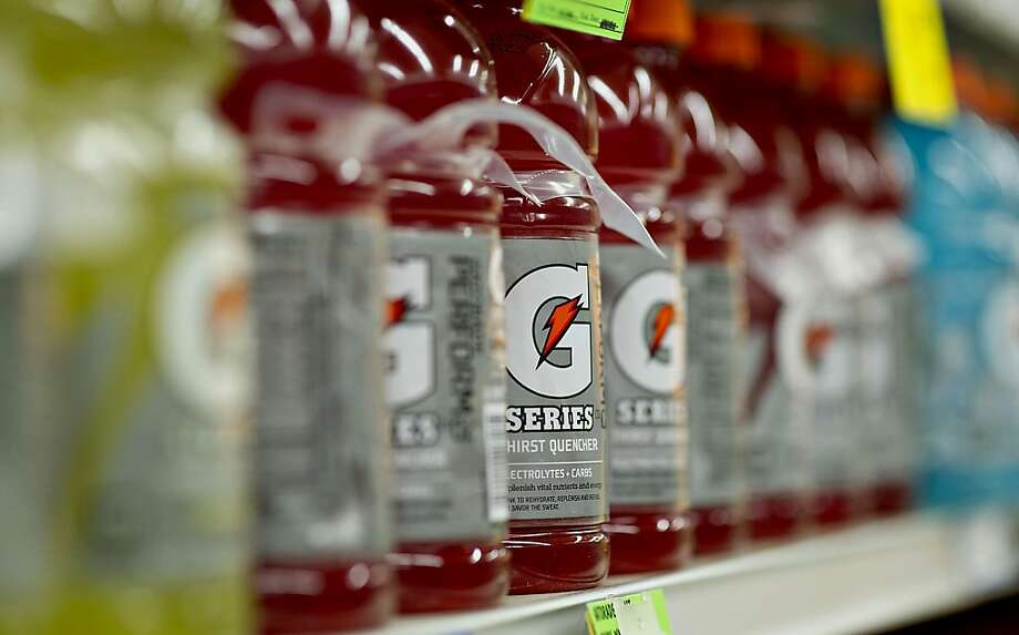 PepsiCo Inc. Gatorade brand sports drinks sit on display in a supermarket in Princeton, Illinois, U.S., on Friday, Oct. 12, 2012. PepsiCo Inc. is scheduled to release earnings data on Oct. 17. Photographer: Daniel Acker/Bloomberg Photo: Daniel Acker, Bloomberg