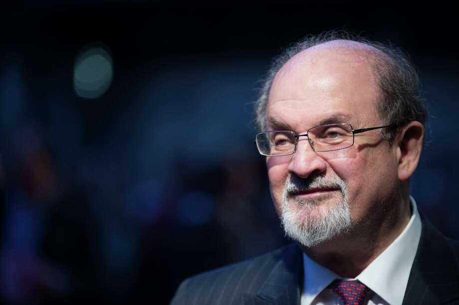 Author Salman Rushdie's controversial novel was banned in India, burned in the U.K. and led to death threats from Iran. The book was inspired by the life of Muhammad.Source: Religion News Service Photo: Ben Pruchnie, Getty Images / 2012 Getty Images