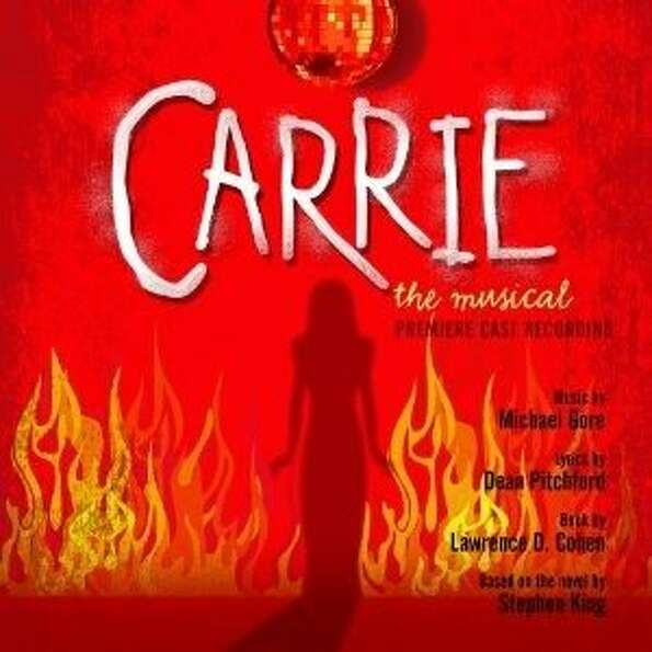 cd cover CARRIE: THE MUSICAL