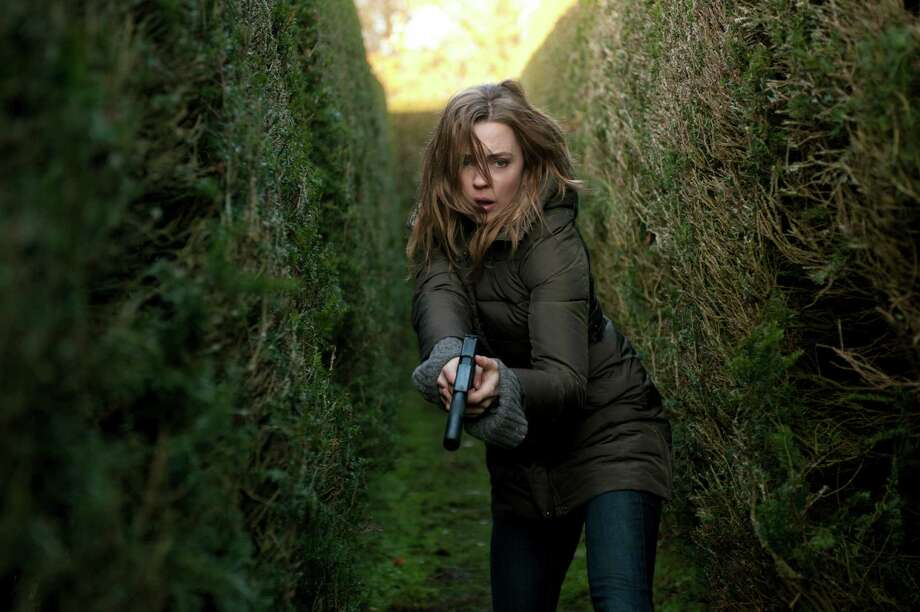 "Melissa George stars as Sam Hunter in ""Hunted,"" a new series on Cinemax. Photo: Liam Daniel"