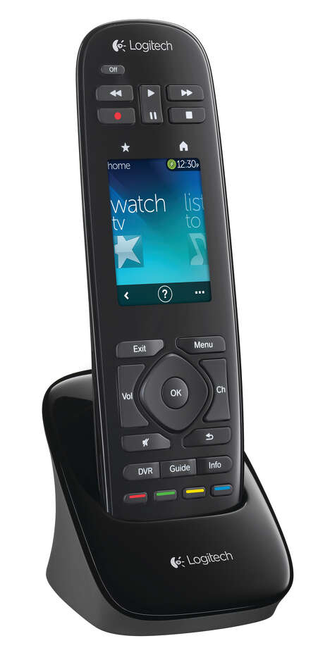 Logitech has long made it possible to reduce the collection of remotes on your coffee table by combining them into a single Harmony device. The newest entry, the $250 Harmony Touch, adds a 2.4-inch touch screen. Photo: Lance Shows